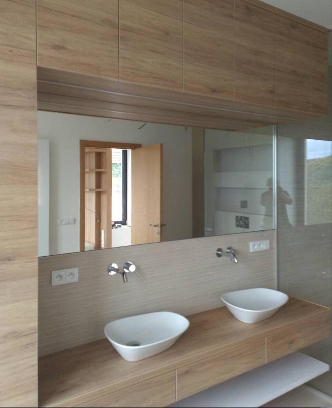 Koupelnová Zrcadla Do Koupelny Sklenářství Praha