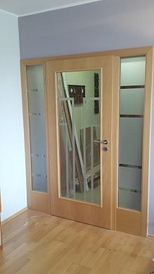 Pískování skla - dveře 2