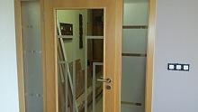 Pískování skla - dveře 3