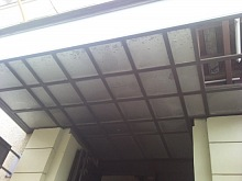 Tlačené sklo do interiérových dveří 1