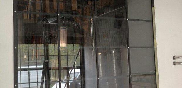 Protipožární sklo