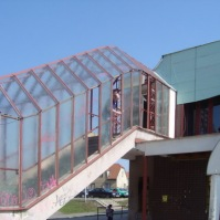 Drátosklo - drátěné sklo 8