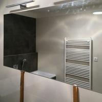 Koupelnové zrcadlo s poličkou 2