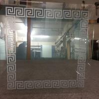 Pískování skla 10