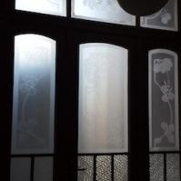 Pískování skla 6