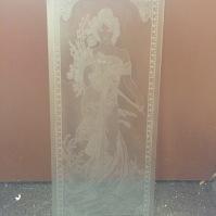 Pískování skla 16