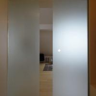 Skleněné posuvné dveře interiérové 1