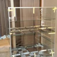 Skleněné vitríny - nábytek ze skla 1