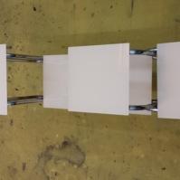 Skleněný stolek - stojan 2