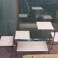 Skleněný stolek - stojan 1