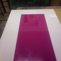 Skleněný stůl 1
