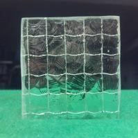 Tlačené sklo do interiérových dveří - Atlantic drát