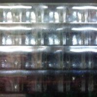 Tlačené sklo do interiérových dveří - Crossfild