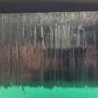 Tlačené sklo do interiérových dveří - Kůra čirá