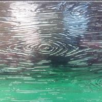 Tlačené sklo do interiérových dveří - Madeira