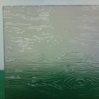 Tlačené sklo do interiérových dveří - Madeira bronz