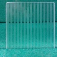 Tlačené sklo do interiérových dveří - Mil rayas 2x2