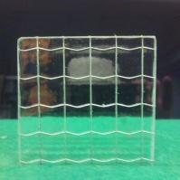 Tlačené sklo do interiérových dveří - Ordinaire drát