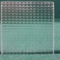 Tlačené sklo do interiérových dveří - Quadra