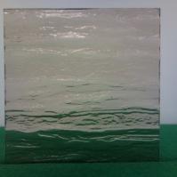 Tlačené sklo do interiérových dveří - Silvit bronz