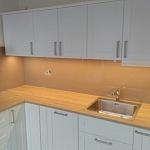 Barevné sklo Lacobel - obklady do kuchyně 93