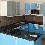 Barevné sklo Lacobel - obklady do kuchyně 10