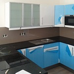 Barevné sklo Lacobel - obklady do kuchyně 11