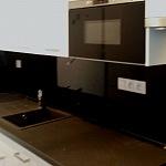 Barevné sklo Lacobel - obklady do kuchyně 25
