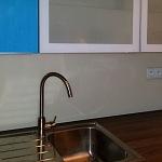 Barevné sklo Lacobel - obklady do kuchyně 27