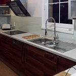 Barevné sklo Lacobel - obklady do kuchyně 33