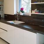 Barevné sklo Lacobel - obklady do kuchyně 37