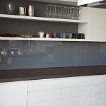 Barevné sklo Lacobel - obklady do kuchyně 41