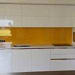 Barevné sklo Lacobel - obklady do kuchyně 45