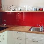 Barevné sklo Lacobel - obklady do kuchyně 47