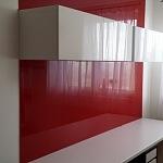 Barevné sklo Lacobel - obklady do kuchyně 48