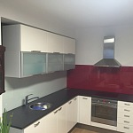 Barevné sklo Lacobel - obklady do kuchyně 4