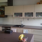 Barevné sklo Lacobel - obklady do kuchyně 55