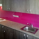 Barevné sklo Lacobel - obklady do kuchyně 63