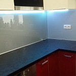 Barevné sklo Lacobel - obklady do kuchyně 64