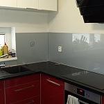 Barevné sklo Lacobel - obklady do kuchyně 65