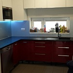 Barevné sklo Lacobel - obklady do kuchyně 68