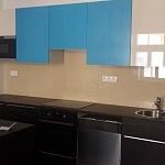 Barevné sklo Lacobel - obklady do kuchyně 69