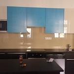 Barevné sklo Lacobel - obklady do kuchyně 70