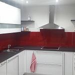 Barevné sklo Lacobel - obklady do kuchyně 72