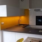 Barevné sklo Lacobel - obklady do kuchyně 75