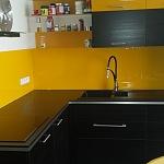 Barevné sklo Lacobel - obklady do kuchyně 76