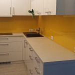 Barevné sklo Lacobel - obklady do kuchyně 80