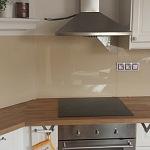 Barevné sklo Lacobel - obklady do kuchyně 81