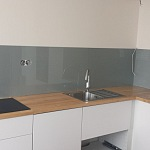 Barevné sklo Lacobel - obklady do kuchyně 86