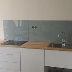 Barevné sklo Lacobel - obklady do kuchyně 87